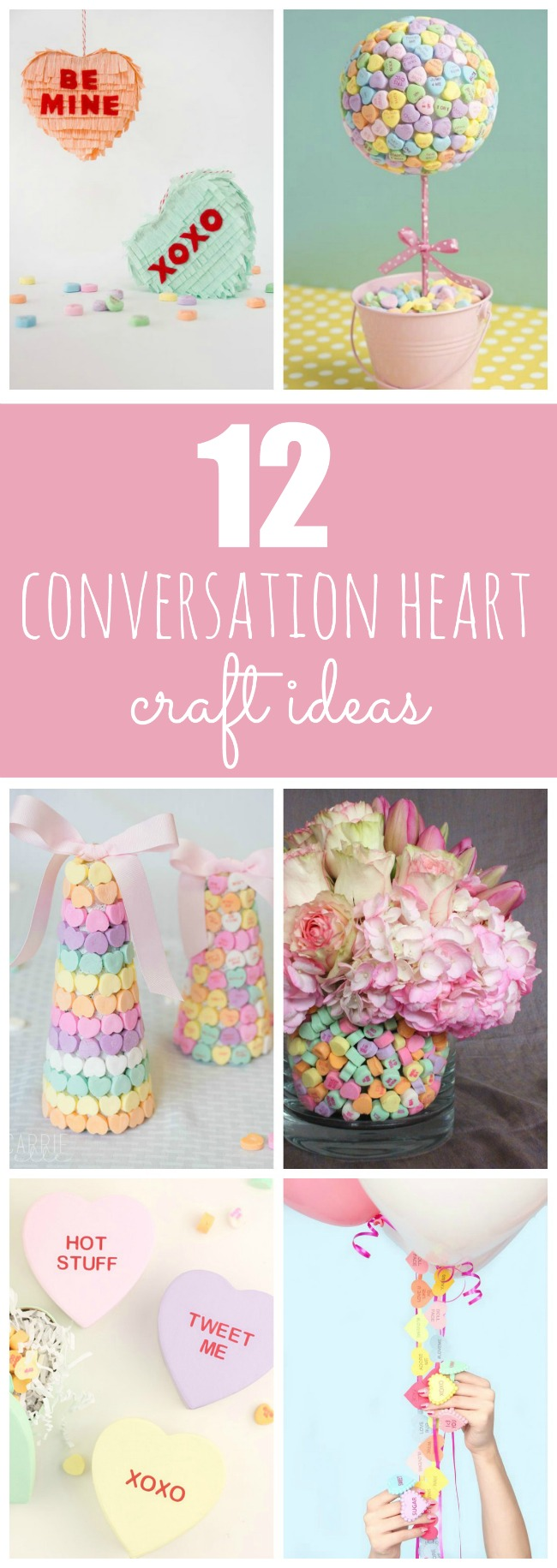 DIY Conversation Heart Craft Ideas