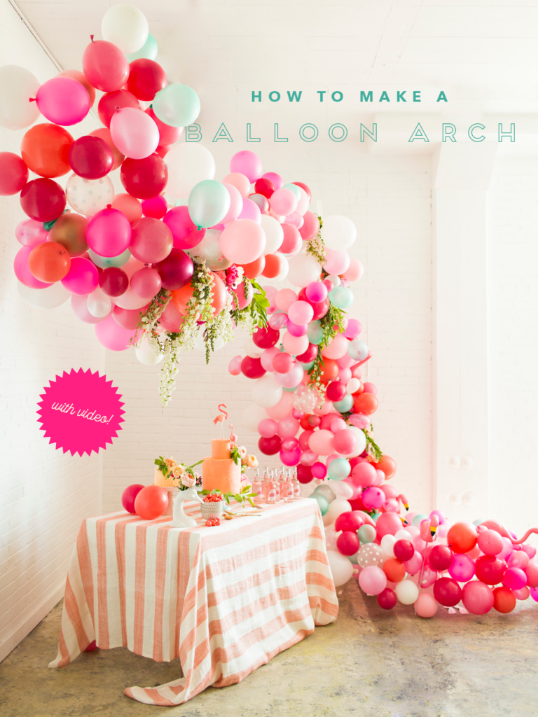 16 Balloon Garland Party Ideas - Pretty My Party - Party Ideas