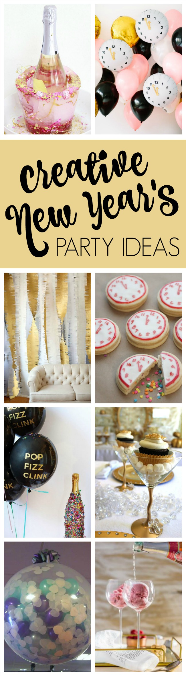 25 best ever new year 39 s eve party ideas pretty my party for New year eve party ideas