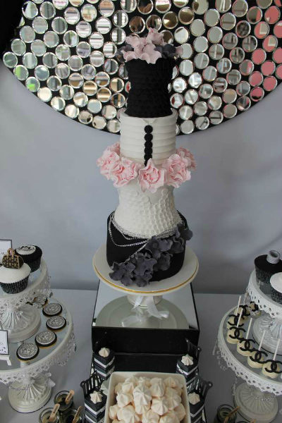 Fashion Party Birthday Cake