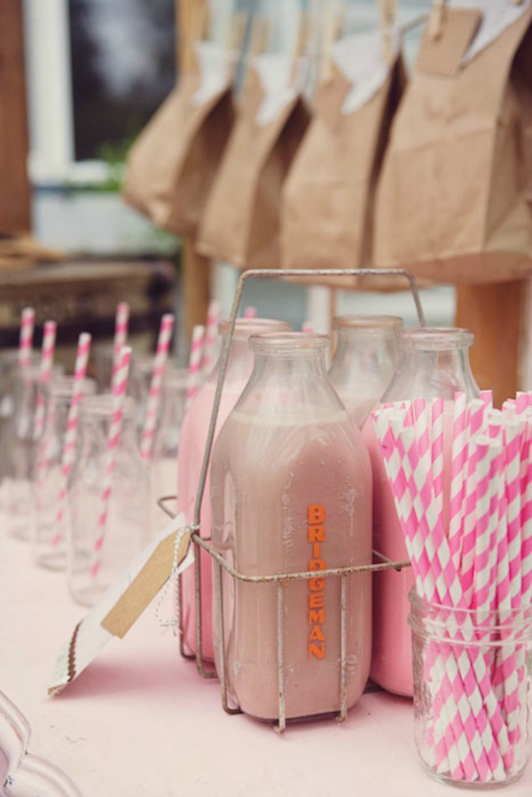 Chocolate and Pink Milk