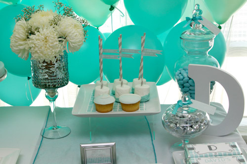 Green Elephant Themed Dessert Table Ideas