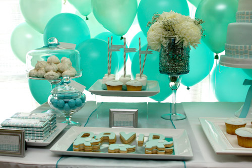 Green Elephant Themed Baptism Ideas