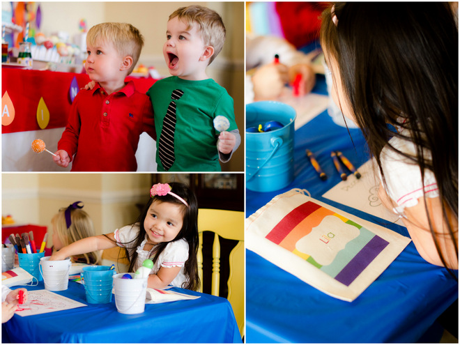 Kids Book Party Activity