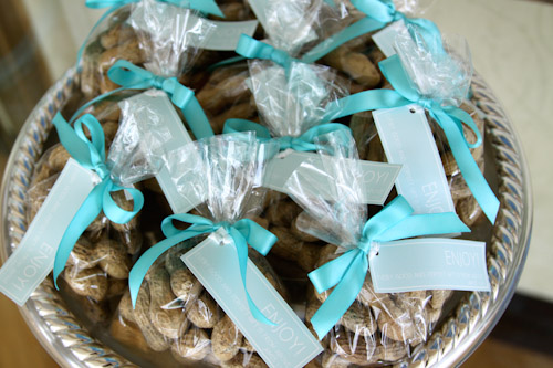 Peanut Baptism Favors For Elephant Themed Baptism Party