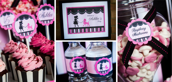Pink Poodle Party Ideas For Girls