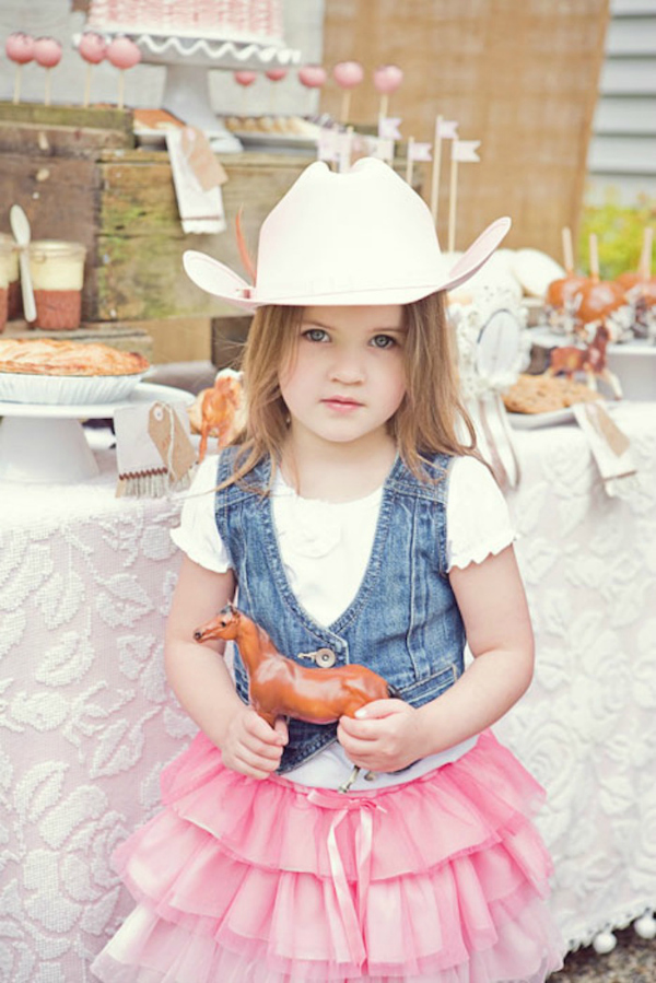Cowgirl Birthday Outfit