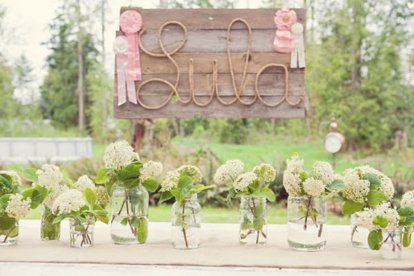 Wooden Name Party Sign