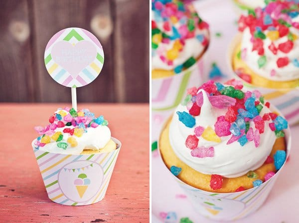 Colorful Sweet Shoppe Birthday Party