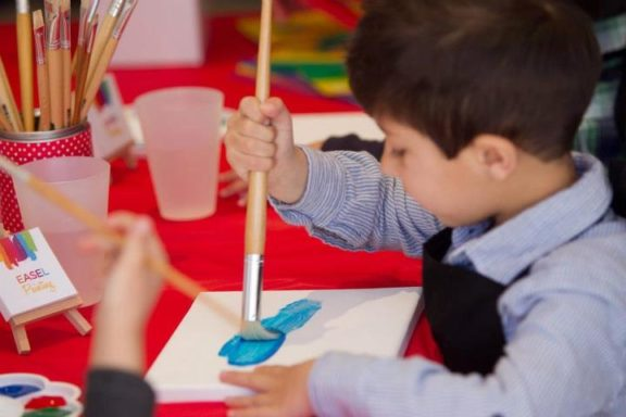 Painting Party Ideas For Kids