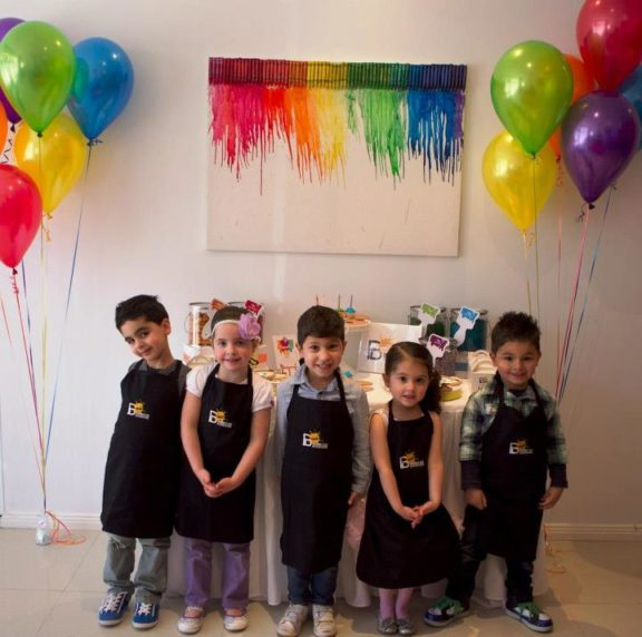 Art Themed Party For Kids
