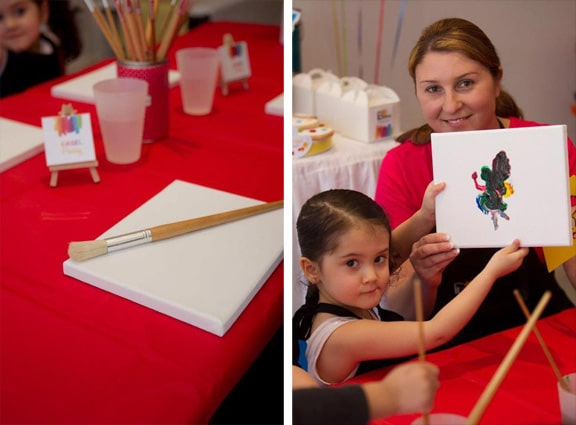 Kids Painting Party Ideas
