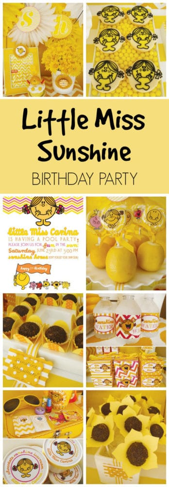 Little Miss Sunshine Party featured on Pretty My Party