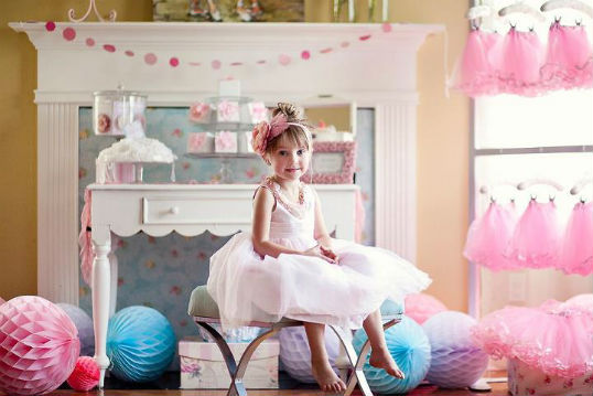 Pink Ballerina Birthday Outfit