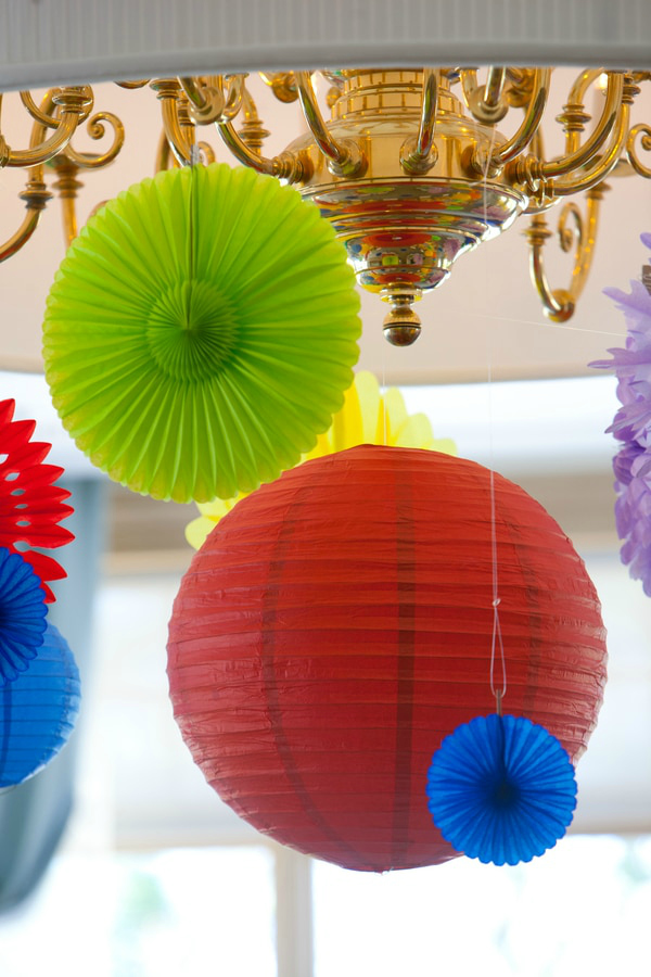 Colorful Hanging Party Decorations