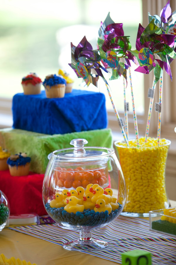 Sesame Street Candy Table