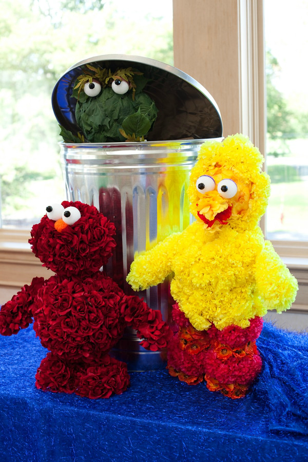 Sesame Street Flower Party Decorations