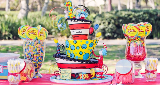A Special Dr Seuss First Birthday Pretty My Party
