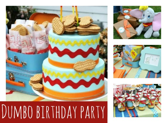 Dumbo Themed Party Ideas featured on Pretty My Party