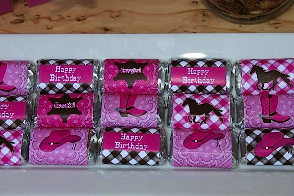 Cowgirl Themed Birthday Party Ideas