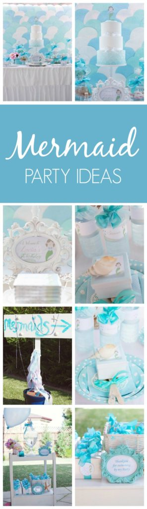 Mermaid under the Sea Party featured on Pretty My Party