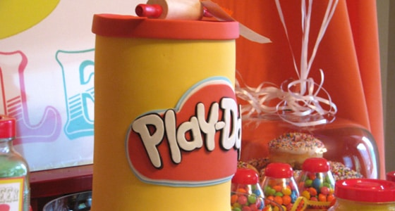 Colorful Play Doh Party Pretty My Party