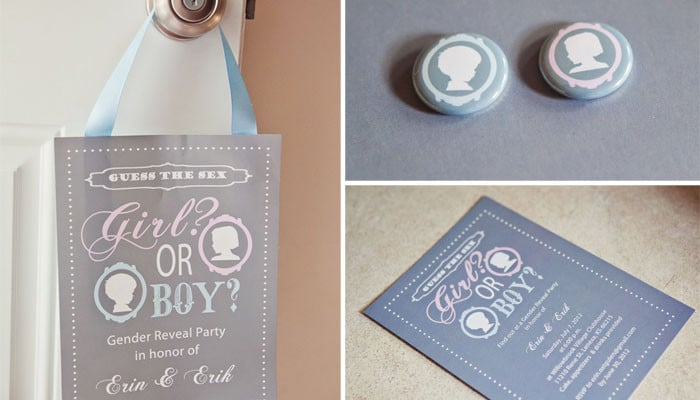 Pink or Blue? Gender Reveal Party