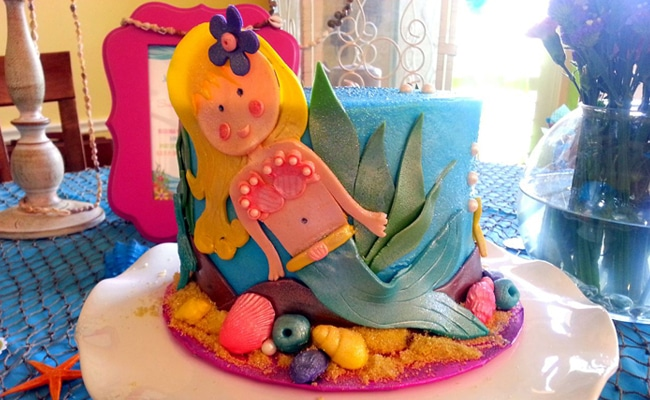 Whimsical Mermaid Tea Party