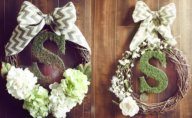 Excellent Etsy Finds: Wreaths from Chic Wreath