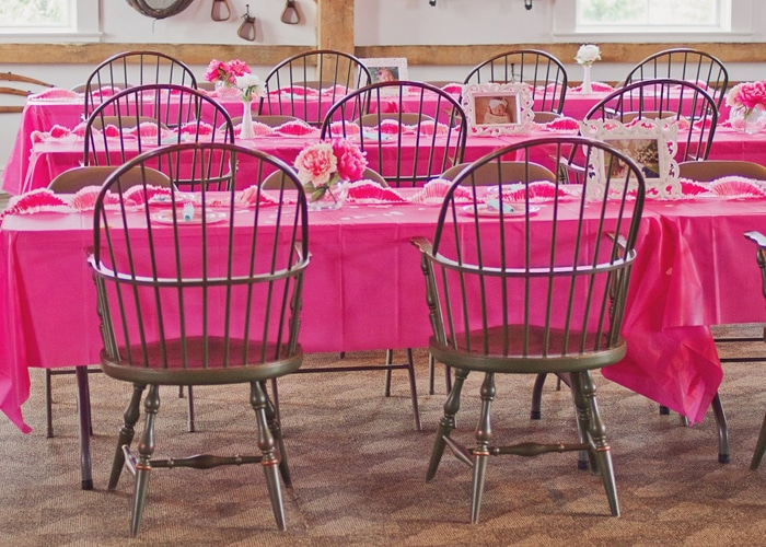Pink Ombre First Birthday Party featured on Pretty My Party