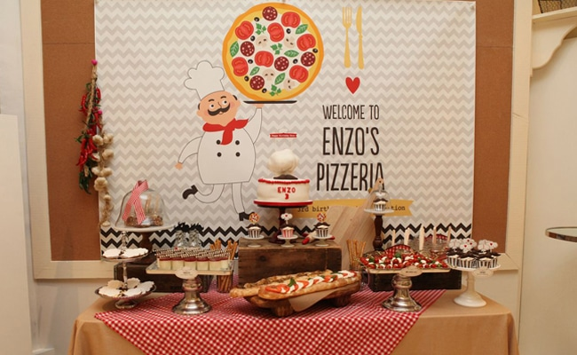 Mustache Amp Pizza Party Pretty My Party Party Ideas