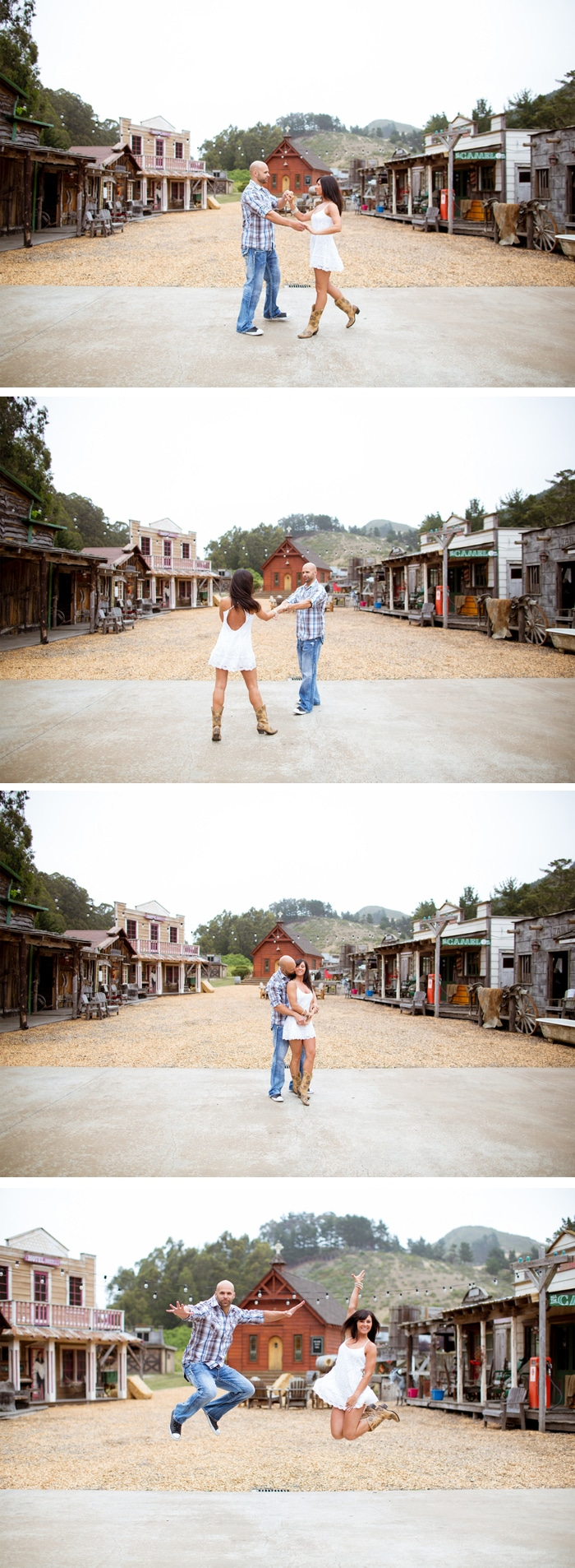 Wild West Themed Engagement Photo Ideas