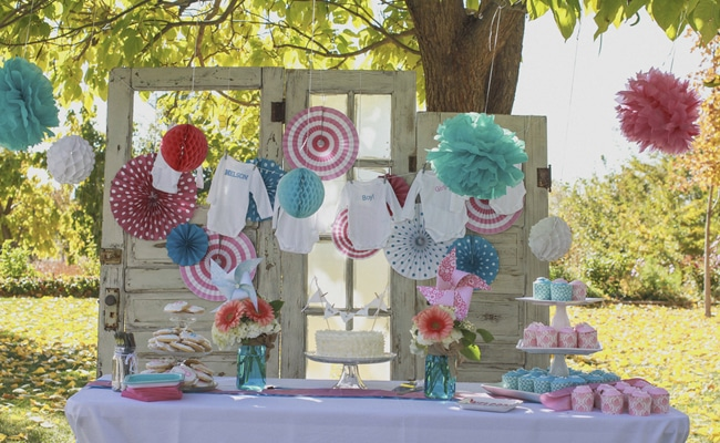 Rustic Gender Reveal