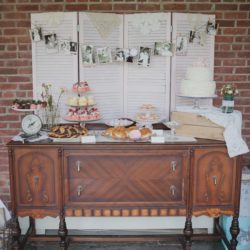 Tea Party Themed Bridal Shower