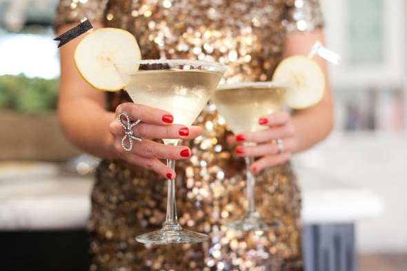 French Pear Martini | 10 NYE Cocktail Ideas | Pretty My Party