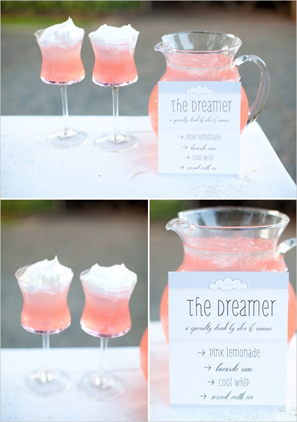The Dreamer Cocktail | 10 NYE Cocktail Ideas | Pretty My Party