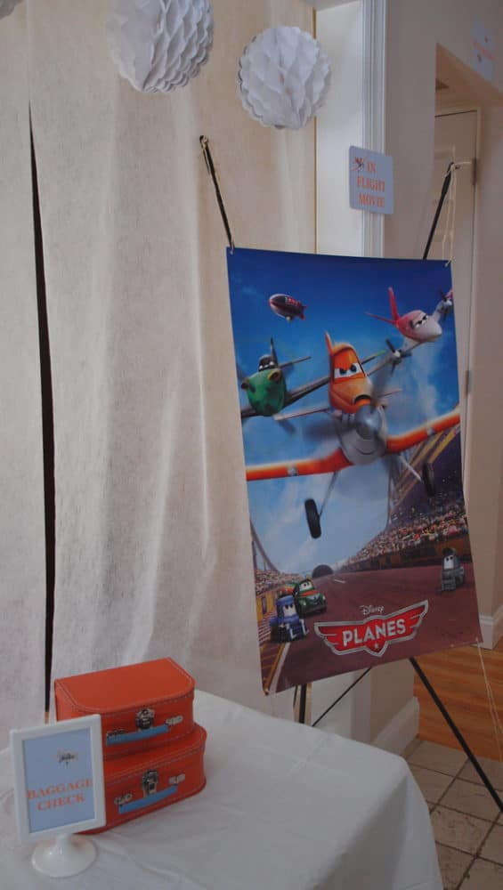 Disney Planes Party Sign