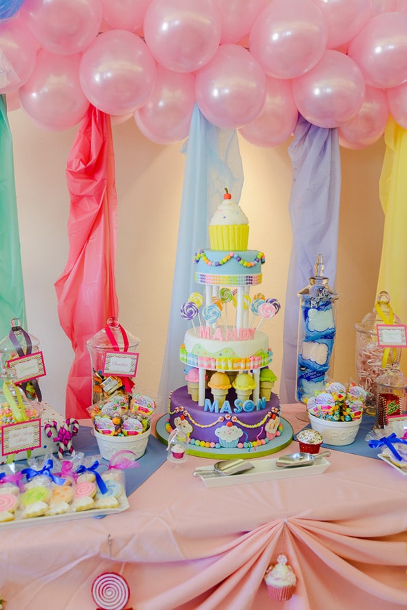 Candland Party Dessert Table
