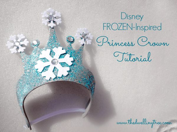 DIY Disney Frozen Princess Crown