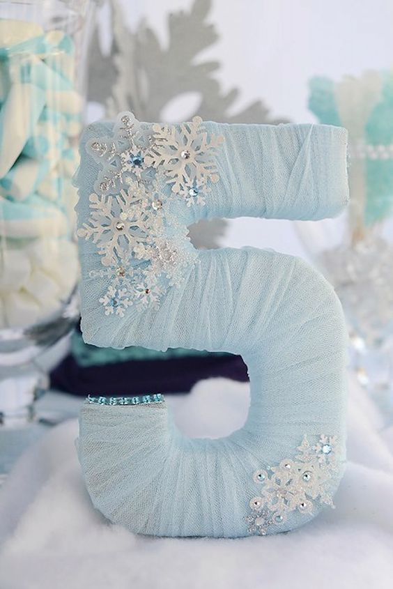 DIY Frozen Party Decoration - Frozen Party Ideas