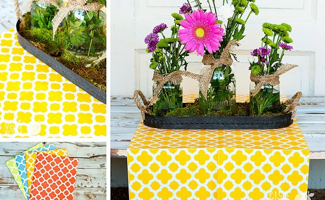 Spring Table Runners 70% Off