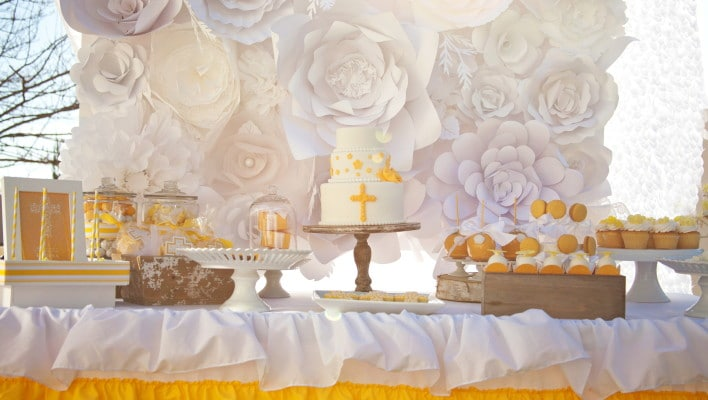Yellow Themed First Communion Styled Photoshoot!