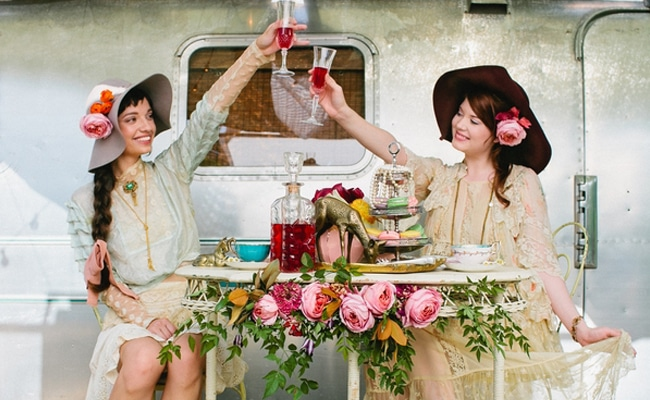 Tea Party Themed Styled Shoot