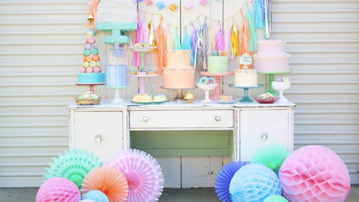 Vintage Pastel Styled Photo Shoot