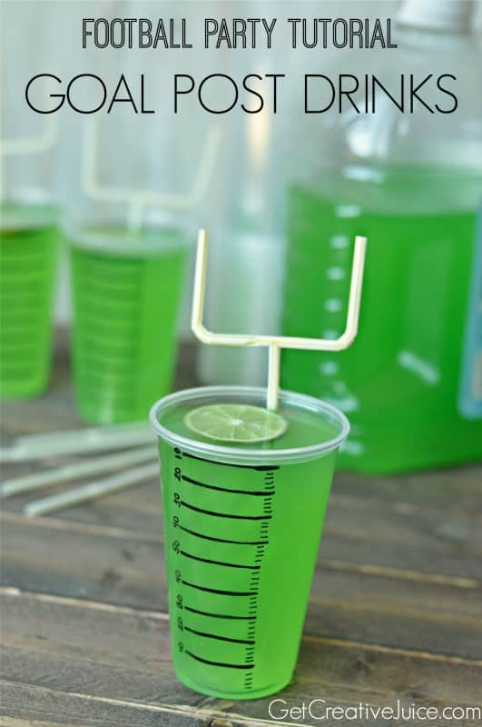 Football Goal Post Drinks