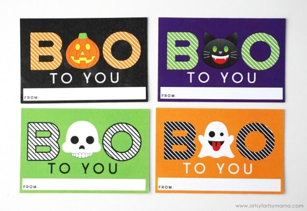 Accomplished image inside free printable halloween gift tags