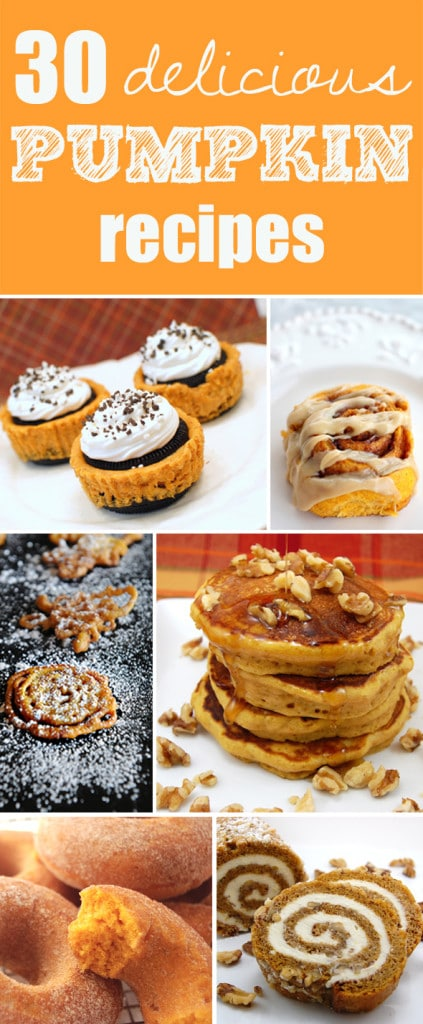 30 Best Pumpkin Recipes - Pretty My Party