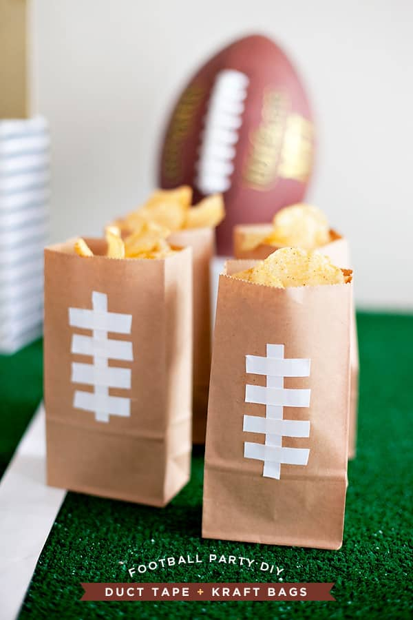 Easy DIY Game Day Snack Bags