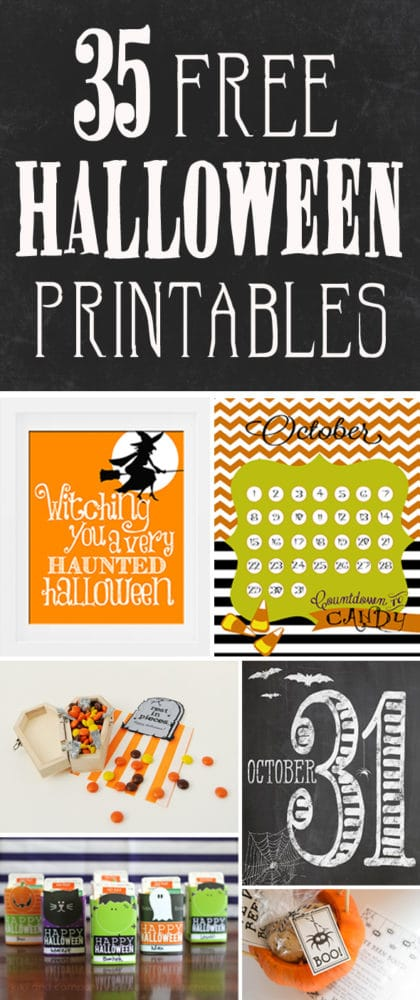 Free Halloween Printables - Pretty My Party