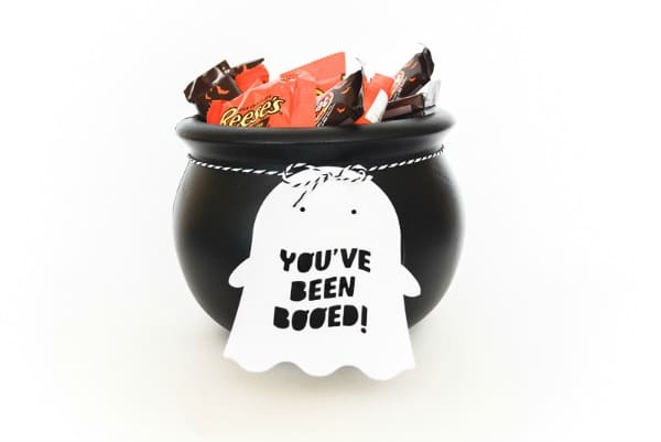 Free Printable Halloween You've Been Booed Tag